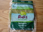Rudi's Spinach Tortillas